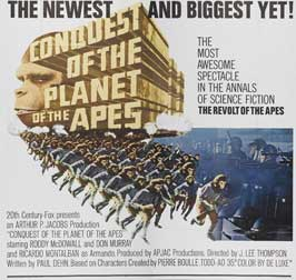 Conquest of the Planet of the Apes - 30 x 30 Movie Poster - Style A