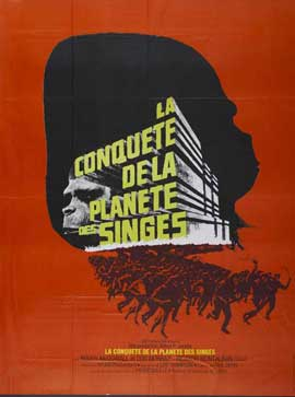 Conquest of the Planet of the Apes - 11 x 17 Movie Poster - French Style A