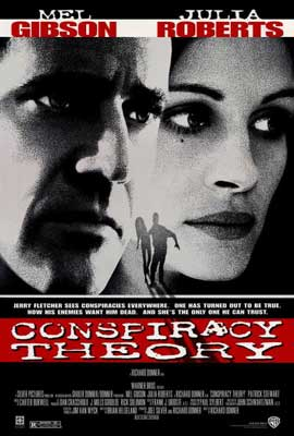 Conspiracy Theory - 11 x 17 Movie Poster - Style A