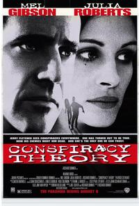 Conspiracy Theory - 43 x 62 Movie Poster - Bus Shelter Style A