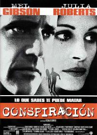 Conspiracy Theory - 27 x 40 Movie Poster - Spanish Style A