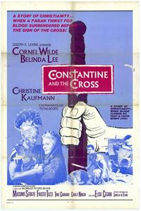 Constantine and the Cross - 11 x 17 Movie Poster - Spanish Style A
