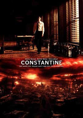 Constantine - 27 x 40 Movie Poster - Style D