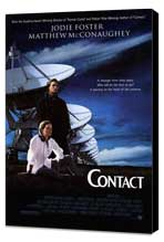 Contact - 27 x 40 Movie Poster - Style A - Museum Wrapped Canvas