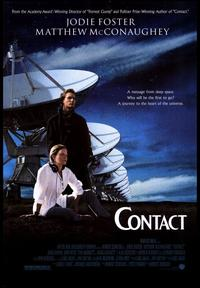 Contact - 43 x 62 Movie Poster - Bus Shelter Style A