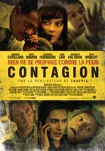 Contagion - 11 x 17 Movie Poster - Swiss Style A