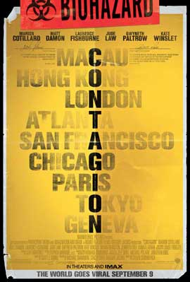 Contagion - 11 x 17 Movie Poster - Style A