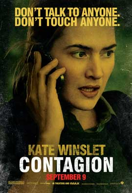 Contagion - 43 x 62 Movie Poster - Bus Shelter Style C
