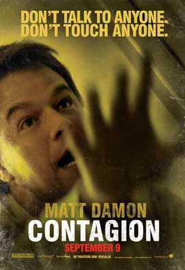 Contagion - 43 x 62 Movie Poster - Bus Shelter Style D