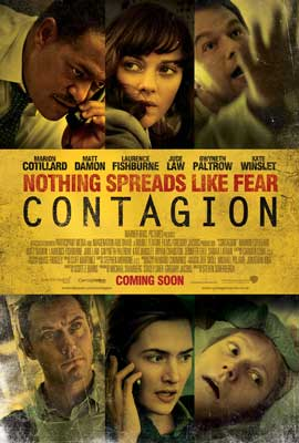Contagion - 43 x 62 Movie Poster - UK Style A
