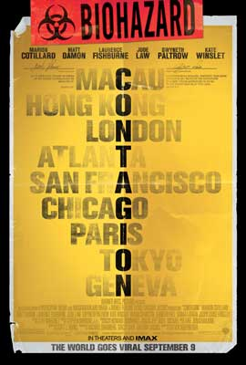 Contagion - 43 x 62 Movie Poster - Bus Shelter Style H