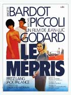 Contempt - 11 x 17 Movie Poster - French Style A