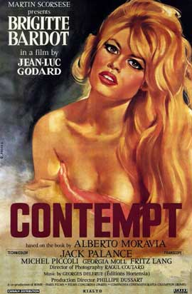 Contempt - 11 x 17 Movie Poster - Style Z