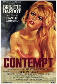 Contempt - 27 x 40 Movie Poster - Style Z