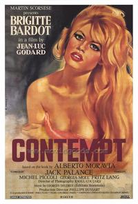Contempt - 43 x 62 Movie Poster - Bus Shelter Style N