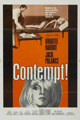 Contempt - 11 x 17 Movie Poster - Style B