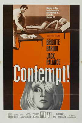 Contempt - 27 x 40 Movie Poster - Style B