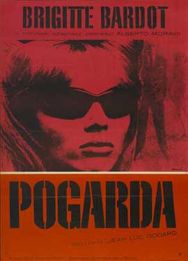 Contempt - 11 x 17 Movie Poster - Polish Style A