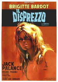 Contempt - 27 x 40 Movie Poster - Italian Style A