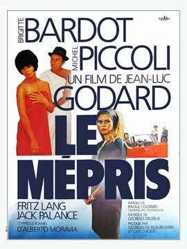 Contempt - 27 x 40 Movie Poster - French Style A