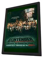 The Contender (TV) - 11 x 17 TV Poster - Style A - in Deluxe Wood Frame
