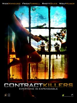 Contract Killers - 11 x 17 Movie Poster - Style C