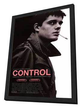 Control - 27 x 40 Movie Poster - Style A - in Deluxe Wood Frame