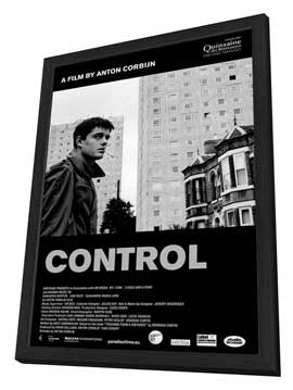 Control - 27 x 40 Movie Poster - Belgian Style B - in Deluxe Wood Frame