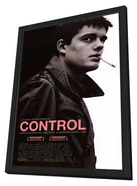 Control - 11 x 17 Movie Poster - Style A - in Deluxe Wood Frame