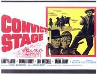 Convict Stage - 11 x 14 Movie Poster - Style A