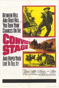 Convict Stage - 11 x 17 Movie Poster - Style A