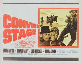 Convict Stage - 22 x 28 Movie Poster - Half Sheet Style A