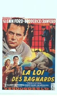 Convicted - 11 x 17 Movie Poster - Belgian Style A