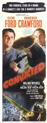 Convicted - 14 x 36 Movie Poster - Insert Style A