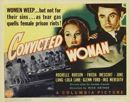 Convicted Woman - 11 x 14 Movie Poster - Style A