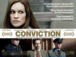 Conviction - 27 x 40 Movie Poster - UK Style A