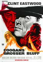 Coogan's Bluff - 27 x 40 Movie Poster - German Style A