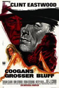 Coogan's Bluff - 11 x 17 Movie Poster - German Style A