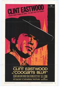 Coogan's Bluff - 43 x 62 Movie Poster - Bus Shelter Style A