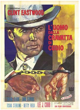 Coogan's Bluff - 27 x 40 Movie Poster - Italian Style A