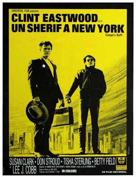 Coogan's Bluff - 11 x 17 Movie Poster - French Style A