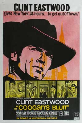 Coogan's Bluff - 11 x 17 Movie Poster - Australian Style A