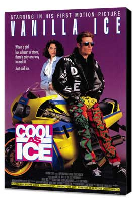Cool As Ice - 27 x 40 Movie Poster - Style A - Museum Wrapped Canvas