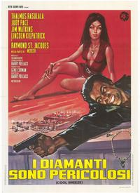 Cool Breeze - 11 x 17 Movie Poster - Italian Style A
