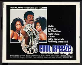 Cool Breeze - 22 x 28 Movie Poster - Half Sheet Style A