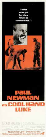 Cool Hand Luke - 14 x 36 Movie Poster - Insert Style A