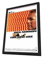 Cool Hand Luke - 27 x 40 Movie Poster - Style A - in Deluxe Wood Frame