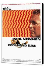 Cool Hand Luke - 11 x 17 Movie Poster - Style A - Museum Wrapped Canvas