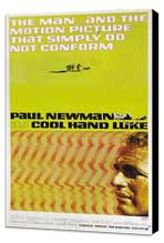 Cool Hand Luke - 20 x 40 Movie Poster - Style A - Museum Wrapped Canvas