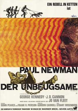 Cool Hand Luke - 11 x 17 Movie Poster - German Style A